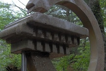 concrete art sculptures / by Cynthia Theroux