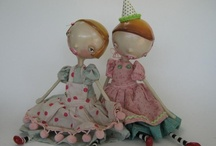 paper mache and clay art / by Cynthia Theroux