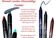 """Rimmel London """"Scandal-ous"""" Eye / We have ALL of Rimmel London's ScandalEyes Eyeshadow Sticks {9 in all} and Waterproof Kohl Kajal Eyeliners {10 in all} and we're giving them away to ONE lucky winner!  We want to see how """"Scandalous"""" you can make your smokey eye! {1} Follow Blueprint for Style on Pinterest; {2} Send us your email address; {3} POST your best smokey eye; and {4} Tell us about it using the hashtag #scandaleye.  The #scandaleye with the most repins by April 10th WINS!"""