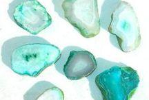 Aqua Gemstones