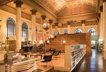 Libraries around Providence / Love libraries? Do you love the aroma of the books sitting and waiting for you to discover them? Or do you simply just love the architecture of some of the oldest buildings in the country? Here is a list libraries in and around Providence for you to check out.