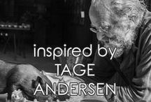 | tage andersen | / inspired by TAGE ANDERSEN