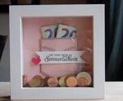 Stampin Up DIY Rahmen / Bilderrahmen mit Produkten von Stampin Up. Rahmen zur Hochzeit,Geburt,  Taufe, Geburtstag und Konfirmation.