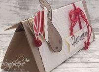 Stampin Up Weihnachten 2017/2018 / Alles zum Thema Weihnachten...Karten, Verpackungen, Deko, Adventskalender