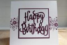 Happy Birthday Gorgeous / DIY Projekte mit Stampin Up Happy Birthday