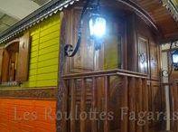 Roulotte sanitaire du Domaine de la Roche Bellin