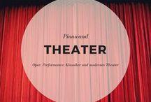 Theater / Ein Theaterbesuch ist toll! Er zieht mich in eine andere Welt und ist so unmittelbar.  Bisher habe ich viel in Münster gesehen, nun erkunde ich die Theaterszene in Hamburg.