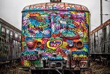 Graffiti / グラフィティ 壁画 スプレー  ラクガキ #㍿人間設計