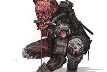 Costume / Steam punk Cyber punk #㍿人間設計