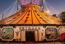 Circus / Circus tent clown サーカス ピエロ 道化師 #㍿人間設計