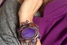 ГАЯНЭ. Авторские украшения с натуральными камнями. / Авторские украшения из натуральных камней, кожи и полимерной глины. Декор сумок.