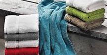Schönes für das Bad / Hochwertige Badezimmerwäsche, Handtücher, Badetücher, Saunatücher, Badteppiche bekannter Marken. Christian Fischbacher, Weseta, Feiler, Egeria.