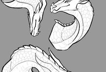 Draw / Mostly dragons bc they are LiFeeEeee