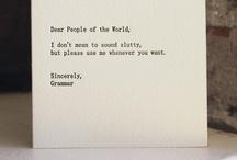 .words / by Josephine Kvarnhjelm