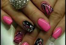 Nails, Nails, & More Nails & Toes / by Kim Meyer
