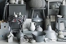 white grey black