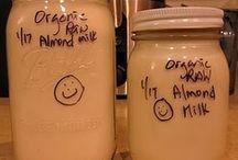 Nut Milks & Nut Butters; how to make 'em