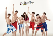 """[TVCF] 2PM & miss A's Suzy – Caribbean Bay 2012. / Idol group 2PM has been the face of Everland's popular water park 'Caribbean Bay'. For the past years, the group had worked with Girls' Generation and f(x)'s Victoria. This time, 2PM will be teaming up with the nation's """"first love icon"""" and miss A member Suzy. Caribbean Bay posted teaser photo with a cutout of a woman and wanted fans to guess who the next lucky female star would be to work with 2PM. / by iHeart ♥ KPOP"""