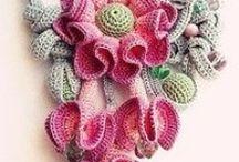crochetting & knitting
