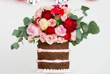 wedding cake love...  / Inspiration for my commission to make my dear friend's wedding cake! / by Phoebe Harrison