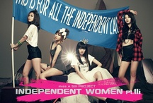 """[MUSICS] MISS A 미쓰에이 ✾ 5TH PROJECT, [INDEPENDENT WOMEN PT. III] ✾ 남자없이 잘 살아 I DON'T NEED A MAN.  / Titled 'Independent Women Pt 3', the group's new mini-album will pay homage to their idol Destiny's Child hit single 'Independent Women'. The title track """"I don't need a man"""" is a southern hip-hop song composed and written by J.Y. Park. The song has a bright melody and sings about young women who work hard and live confidently without needing a man to survive. Labelmate 2PM's Taecyeon also lent his voice for the track """"Madness"""". / by iHeart ♥ KPOP"""