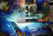 The Universe in Us / Digital photography plus manipulation. / by Lisa Galarneau