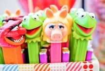 pez / we love collecting pez containers at our place