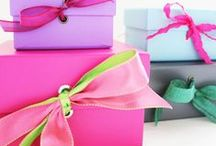 CONFETTISTYLE GIFT WRAPPING / by ConfettiStyle Interiors