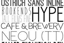 fonts to love