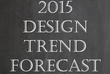 2015 Design Trends / by ConfettiStyle Interiors