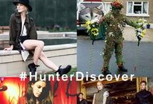#HunterDiscover / #HunterDiscover Visit Discover at hunterboots.com to experience the latest from the world of Hunter, our heritage and the world surrounding us. Explore now to find out more including events, new collections and the pioneering individuals we admire