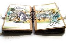 Art Journaling / Express yourself any way you like in an art journal