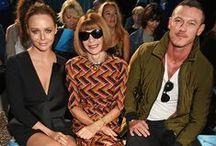 FROW - HUNTER ORIGINAL SS16 / Front row guests at the Hunter Original SS16 London Fashion Week show
