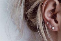 Ear piercing inspo
