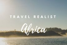 Africa / The best pins for travel in Africa, created or curated by The Travel Realist