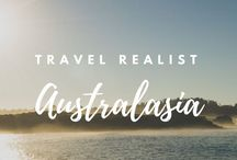 Australasia / The best pins for travel in Australasia, created or curated by The Travel Realist