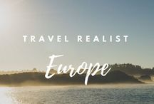 Europe / The best pins for travel in Europe, created or curated by The Travel Realist