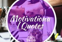 Motivational Quotes / Sometimes you need some motivation in your life and your yoga practice. This board is full of motivational quotes to get you inspired to practice yoga and succeed in life.