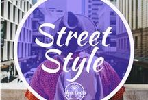 Street Style / Rockstar fashion for free and easy everyday wear.