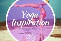 Yoga Inspiration / Yoga inspiration for budding yogis and yoginis. Advanced yoga poses, stunning scenery and plenty of backbends.