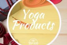 Yoga Products / More cool yoga props and accessories than you can shake a stick at.