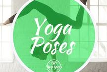 Yoga Poses / Yoga pose examples, alignment tips, guides, tips and inspiration