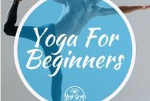 Yoga For Beginners / Yoga poses and sequences, tips and guides for beginner yogis.