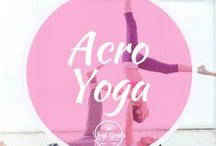 Acro Yoga / Acro yoga poses and inspiration to get you fired up to practice. Check out the beautiful partner and couple yoga!
