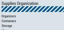 Supplies Organization / Stationery Supplies Organization. Organizers. Containers. Storage. Ideas. Insight Academy. www.timeforplanning.com