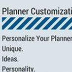 Planner Customization / Personalize Your Planner. Unique. Ideas. Stationery Supplies. Personality. Everyday Carry. Fun to Use Planner.