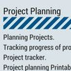 Project Planning / Planning Projects. Tracking progress of projects. Project tracker. Project planning Printables.
