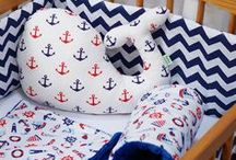 Nautical nursery collection