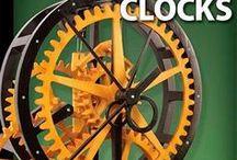 Wooden Gears, Clocks & Kinetic Sculptures