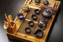 Chinese Tea and Tea utensils